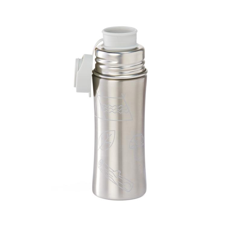 Edelstahl Trinkflasche - 19,90 €